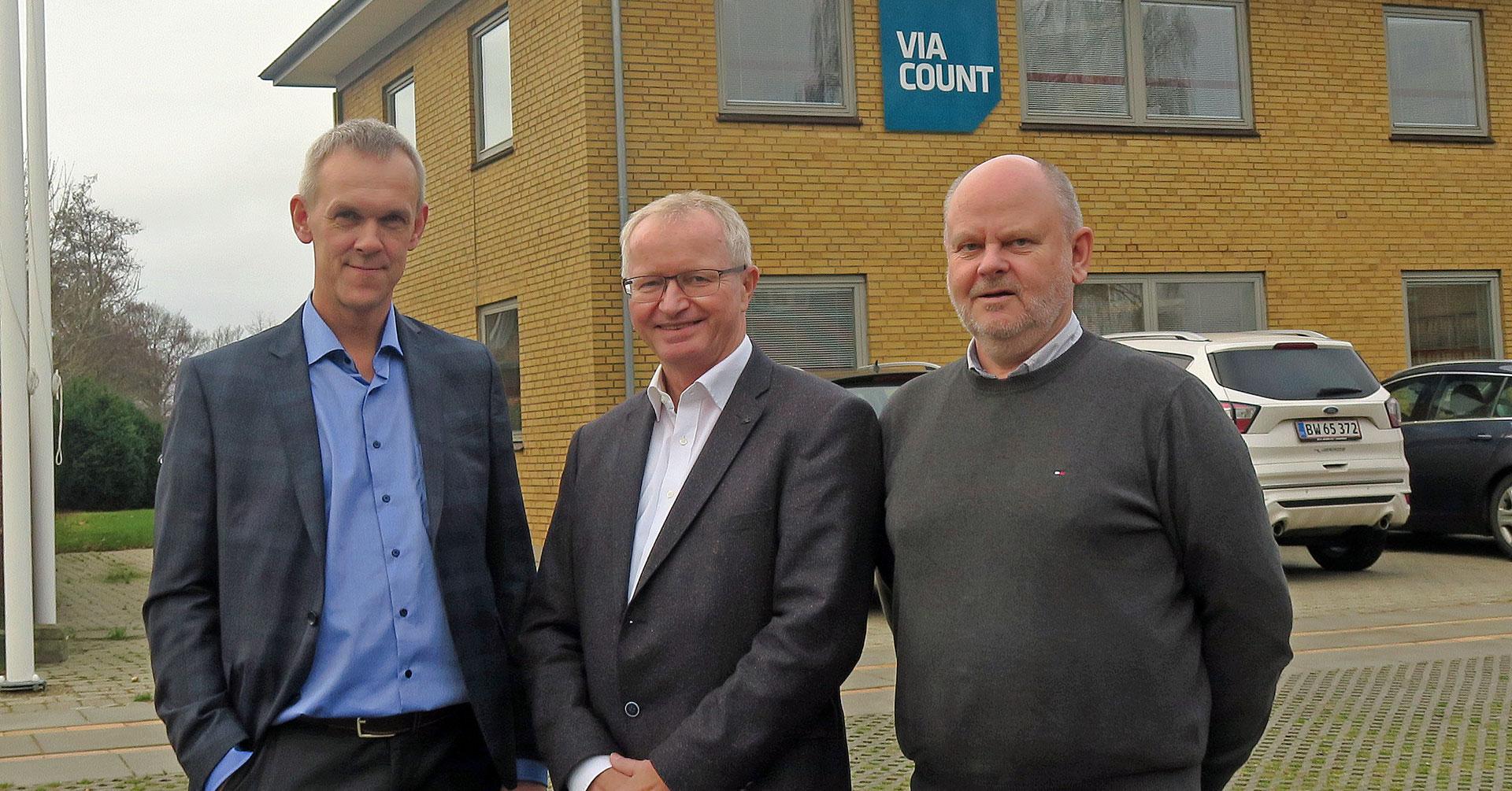SLF sælger revisionsselskabet ViaCount til Tønder Revision Tønder Revision overtager revisionsselskabet ViaCount pr. 1. januar 2019. SLF ønsker at koncentrere sig om hovedforretningsområdet med service og rådgivning til landbrugskunder.